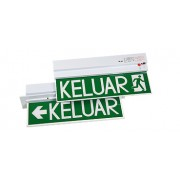 Econlite PR213 & PR213R Self-Contained Emergency Keluar Sign