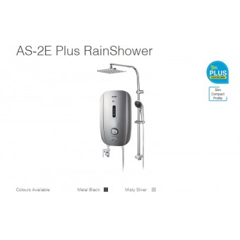 Alpha AS-2E Plus Water Heater Rain Shower Set