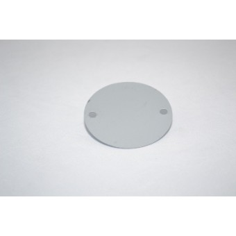 "Wireman 20mm (3/4"") PVC Lid Cover (Screw)"